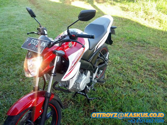 Modif Plat Nomor Yamaha Byson