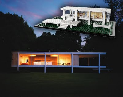 Lego Architecture Farnsworth House7