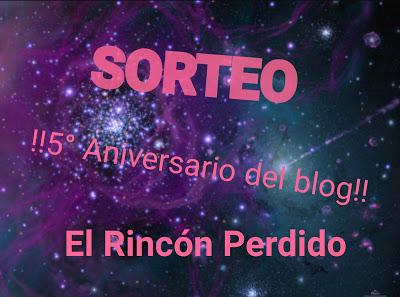 Sorteo 5º Aniversario del blog