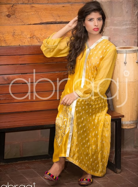 Abraaj Letest Eid Dresses Collection 2013-2014 For Womens & Girls By Fashion She9