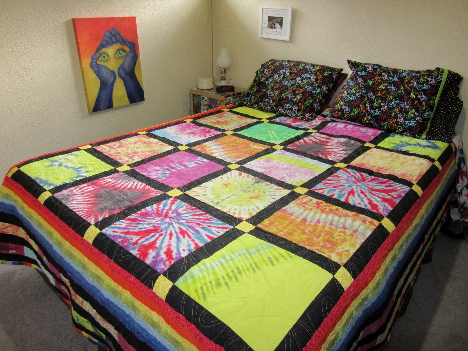 BLD in MT : Living a Simple Life in This Interconnected World: My ... : tye dye quilt - Adamdwight.com