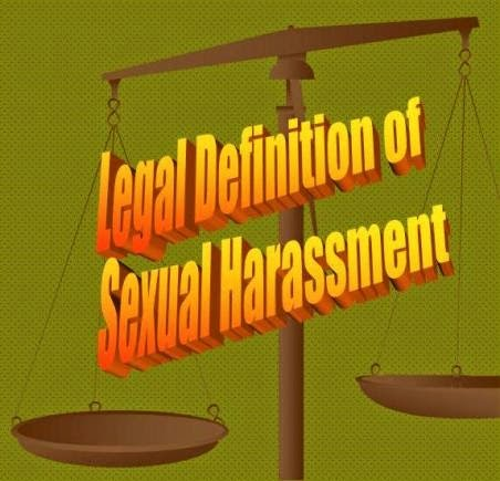 Definition of sexual harassament i