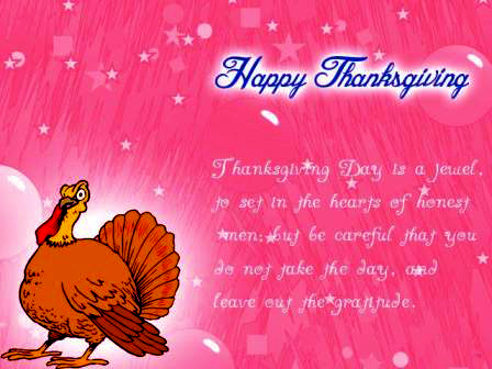 Happy Thanksgiving SMS ThanksGiving SMS To Boss