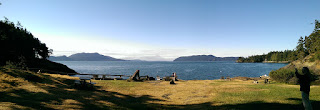 view from Doe Bay Resort, Orcas Island, WA.