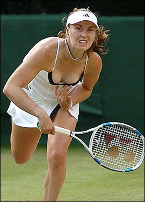 hot Martina hingis