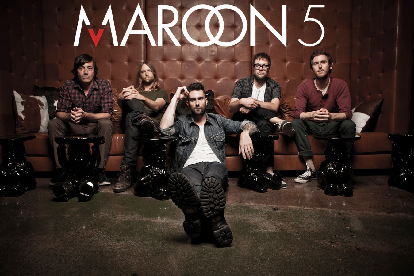 Adam Levine Maroon 5 band poster