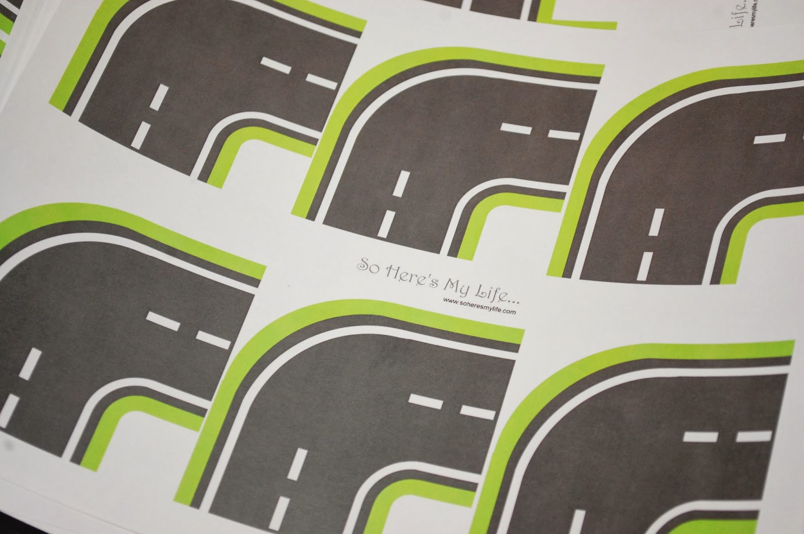 printable roads for kids toy cars so here s my life