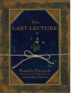 Book Cover The Last Lecture