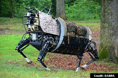 DARPA's Robot, LS3