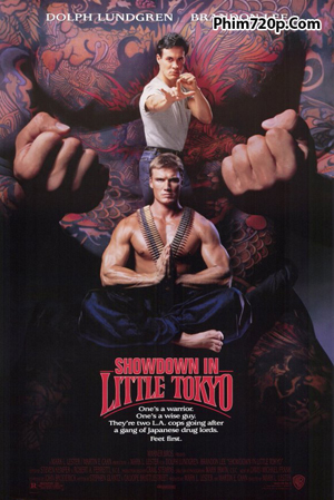 Showdown in Little Tokyo 1991 poster