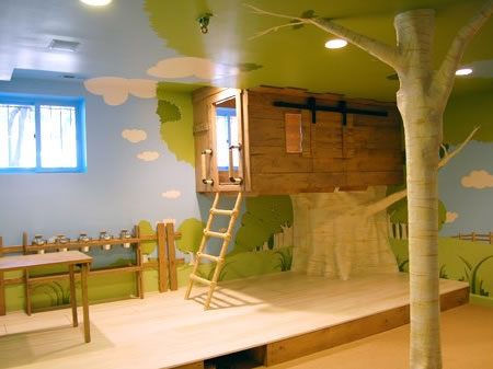 Architecture Media: Kids Interior Room Design like a Tree House