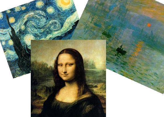 wallpapers de pintores famosos: