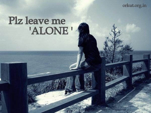 Alone girl images