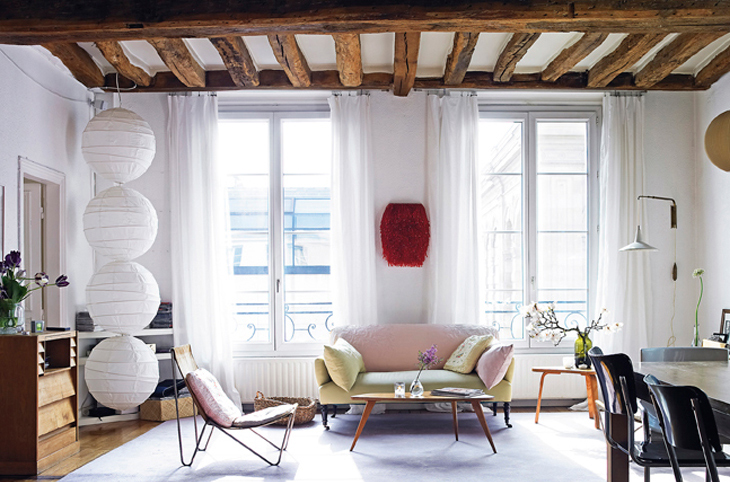 Fashion Designer Vanessa Bruno Is The Owner Of This Beautiful 1650 House  And Decorated It With A Very Cool Mixture Of Old And New, French And Danish  Flea ...