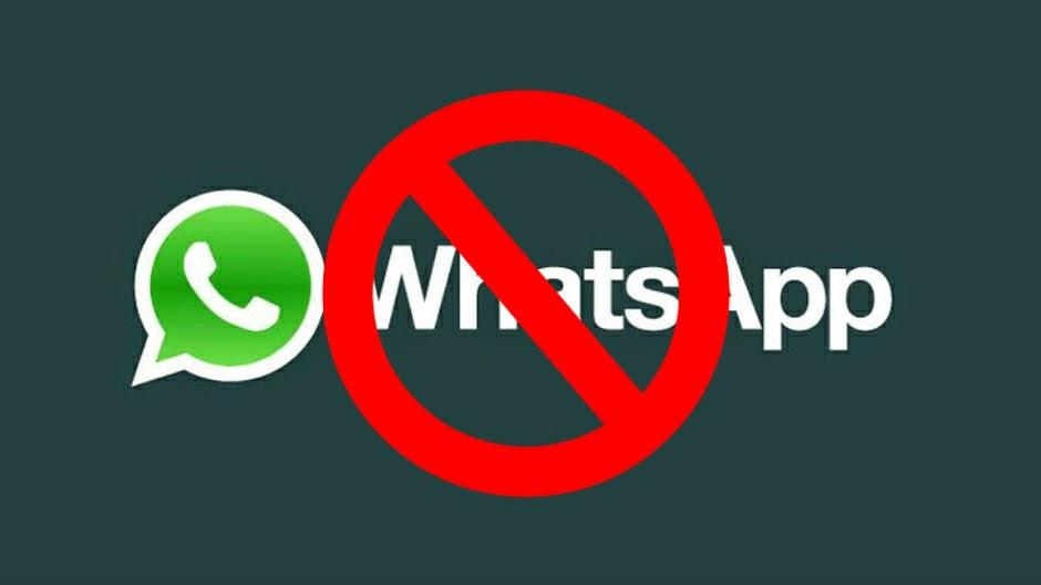 Se cerrara whatsaap por falla del sistema