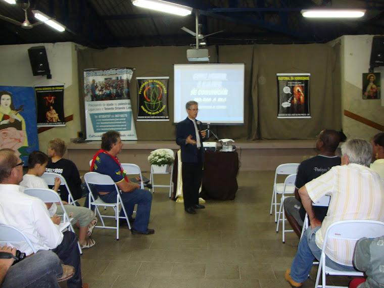 Bispo Dom Paulo Mendes Peixoto presente Semana Nacional Anti- Drogas - Ano 2010