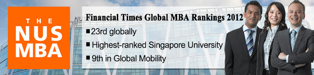 nus mba FT global mba ranking