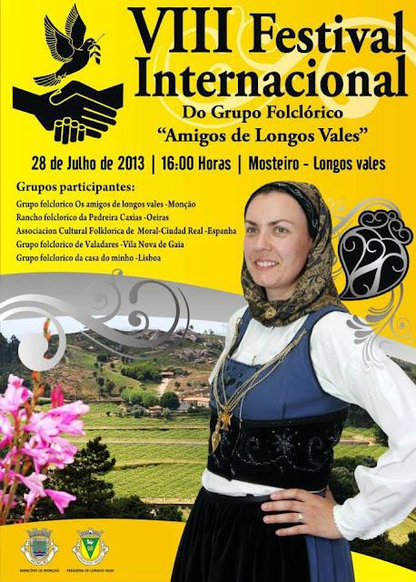 "VIII Festival Internacional do Grupo Folclórico ""Amigos de Longos Vales"""
