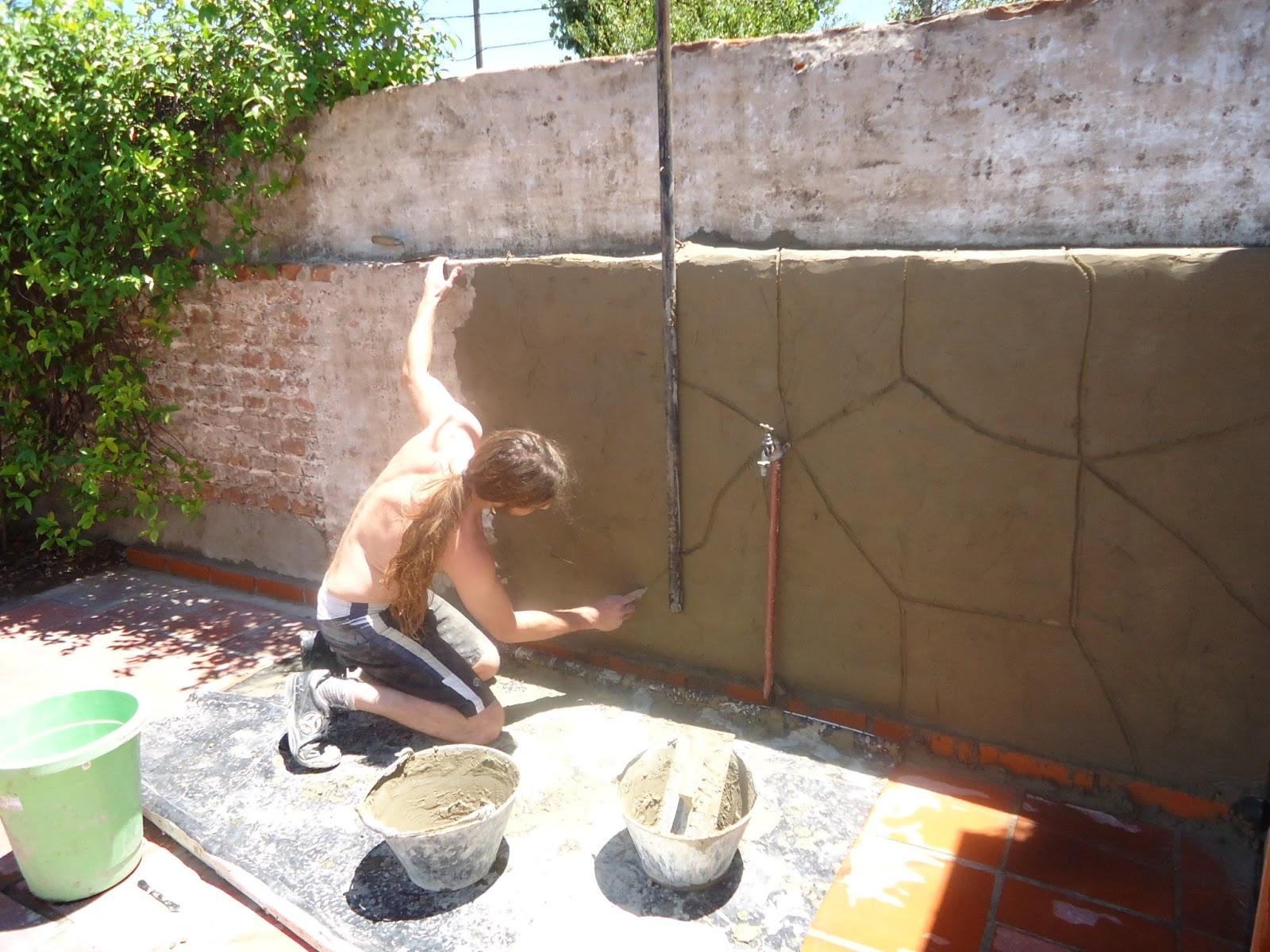 Decor arte imitacion piedra laja - Imitacion piedra pared ...