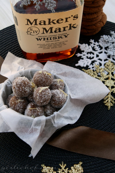 ... good boozy ball on any holiday tray these balls in particular have