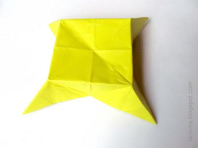 оригами стол