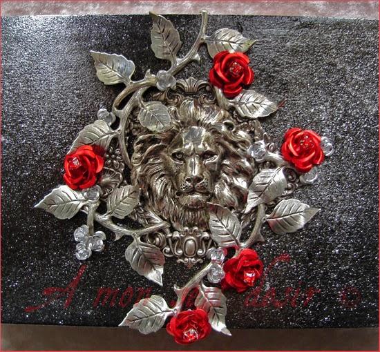 La Belle et La Bête Jardin des Roses Amour Véritable Coffret Boite à Bijoux