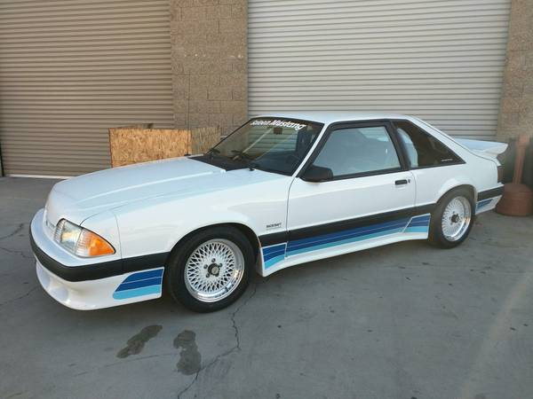 Daily Turismo: #92 of 280: 1987 Saleen Mustang