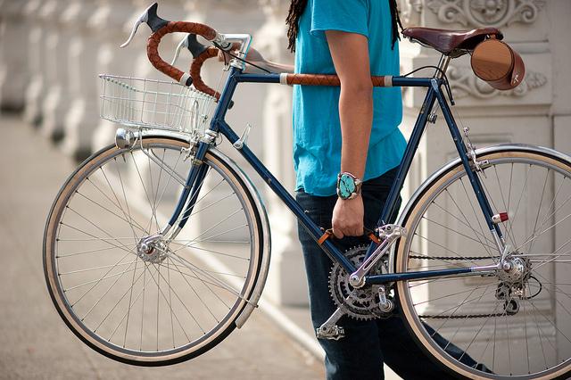 Alça para carregar uma bicicleta