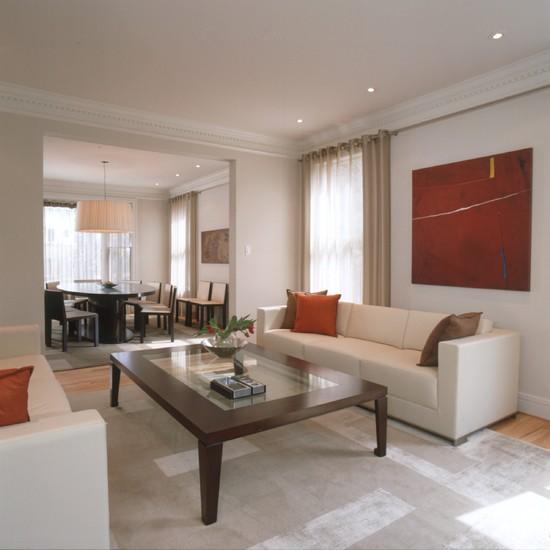 10 kombinasi ruang tamu dan ruang makan minimalis gambar