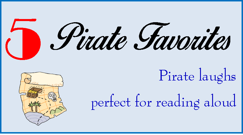 5 pirate favorites for reading aloud ~ Life in Random Bits #books #kids #pirates