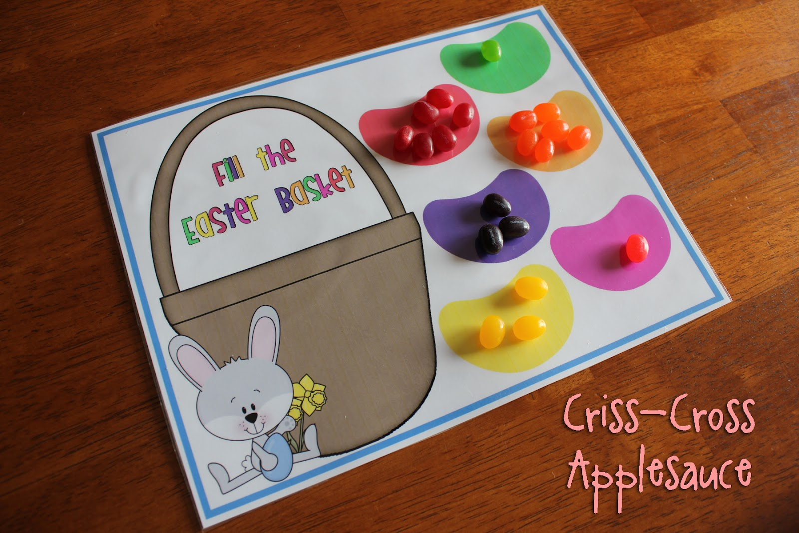 Easter Jelly Bean Colors