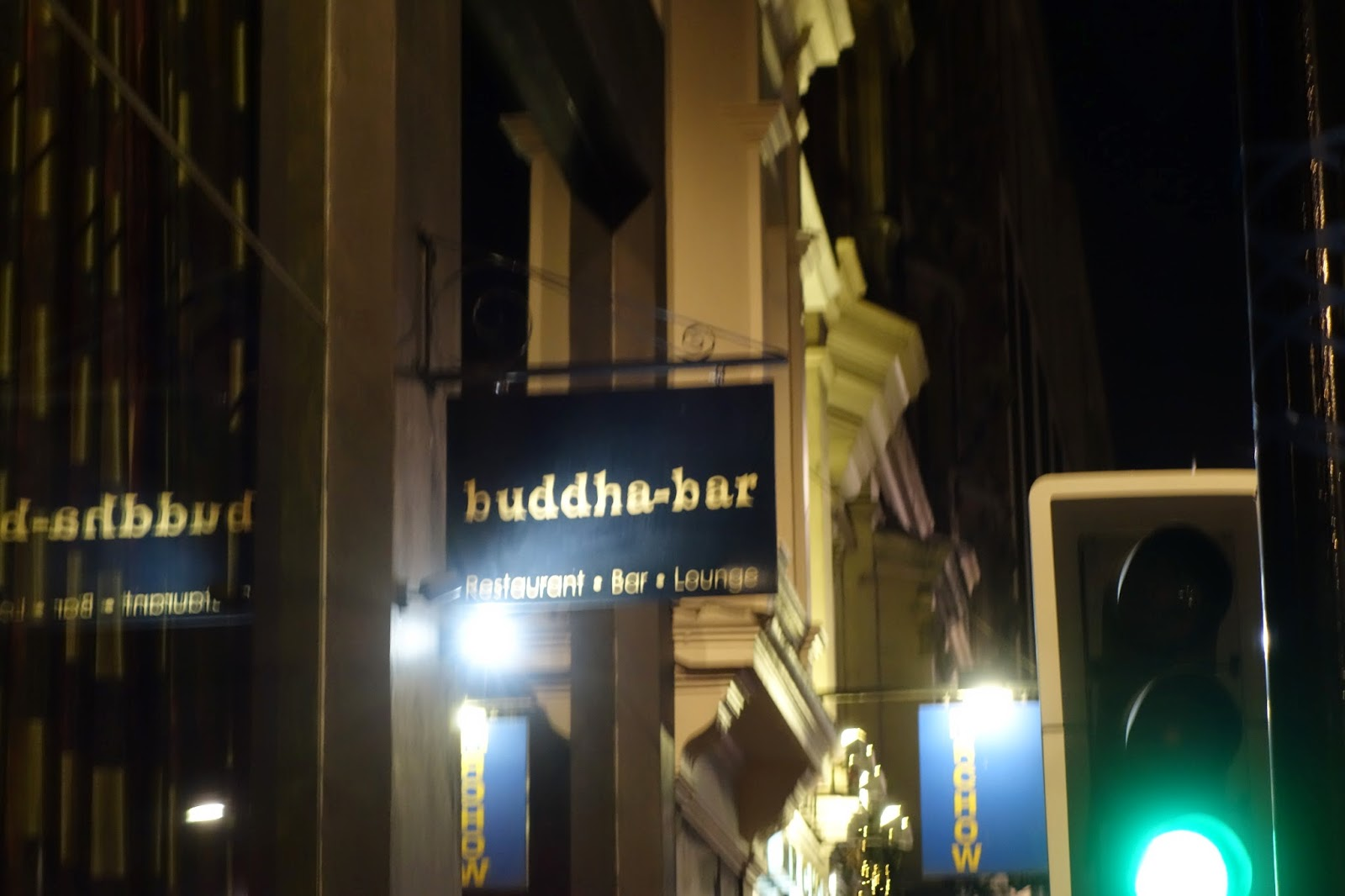 Buddha bar sign