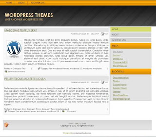 2 column wordpress blog themes