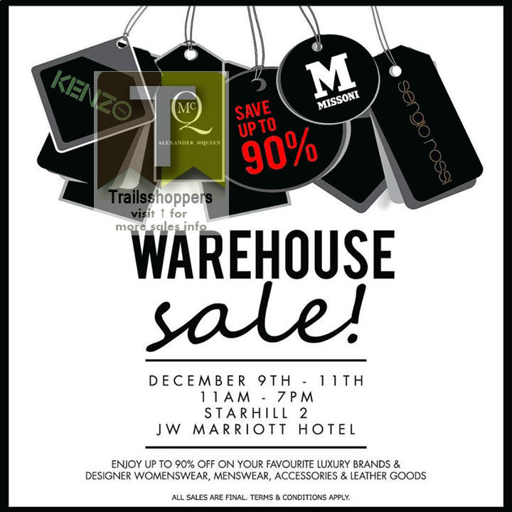 kl Niche Retailing Warehouse Sale 2015