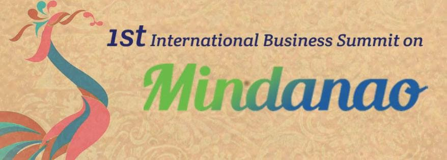 First International Business Summit on Mindanao