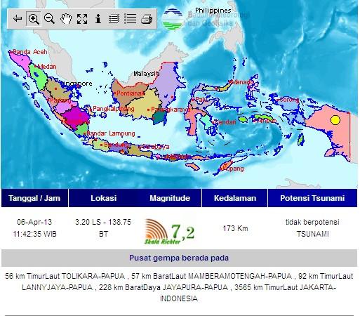 gempa papua