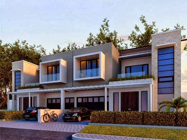 model rumah minimalis perkotaan 8