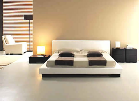 Decorations: Minimalist Design - Modern Bedroom Interio