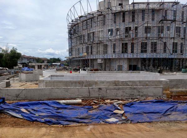 one belpark Mall progress 1