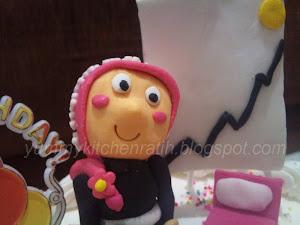 3D rainbow cake