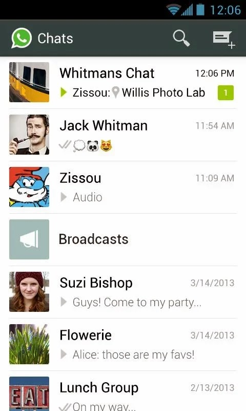 WhatsApp Messenger v2.11.283