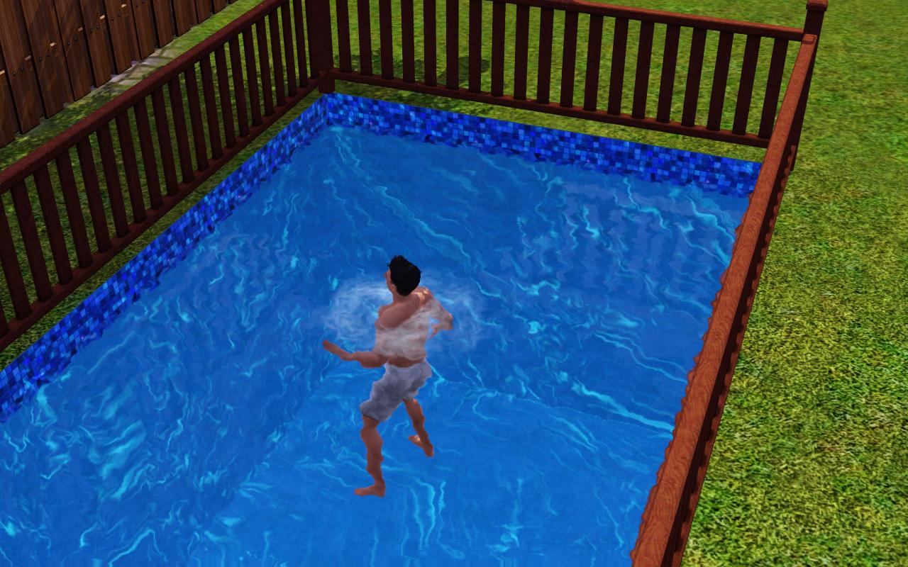 Allt om sims: dö genom drunkning