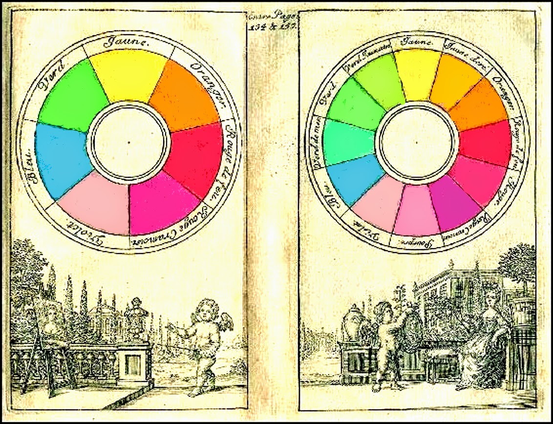 A history of graphic design chapter 79 a history of color color 1708 claude boutet color wheel nvjuhfo Choice Image