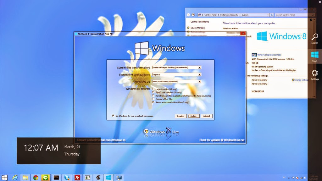 Windows 8 Transformation Pack 7.0 Free Download