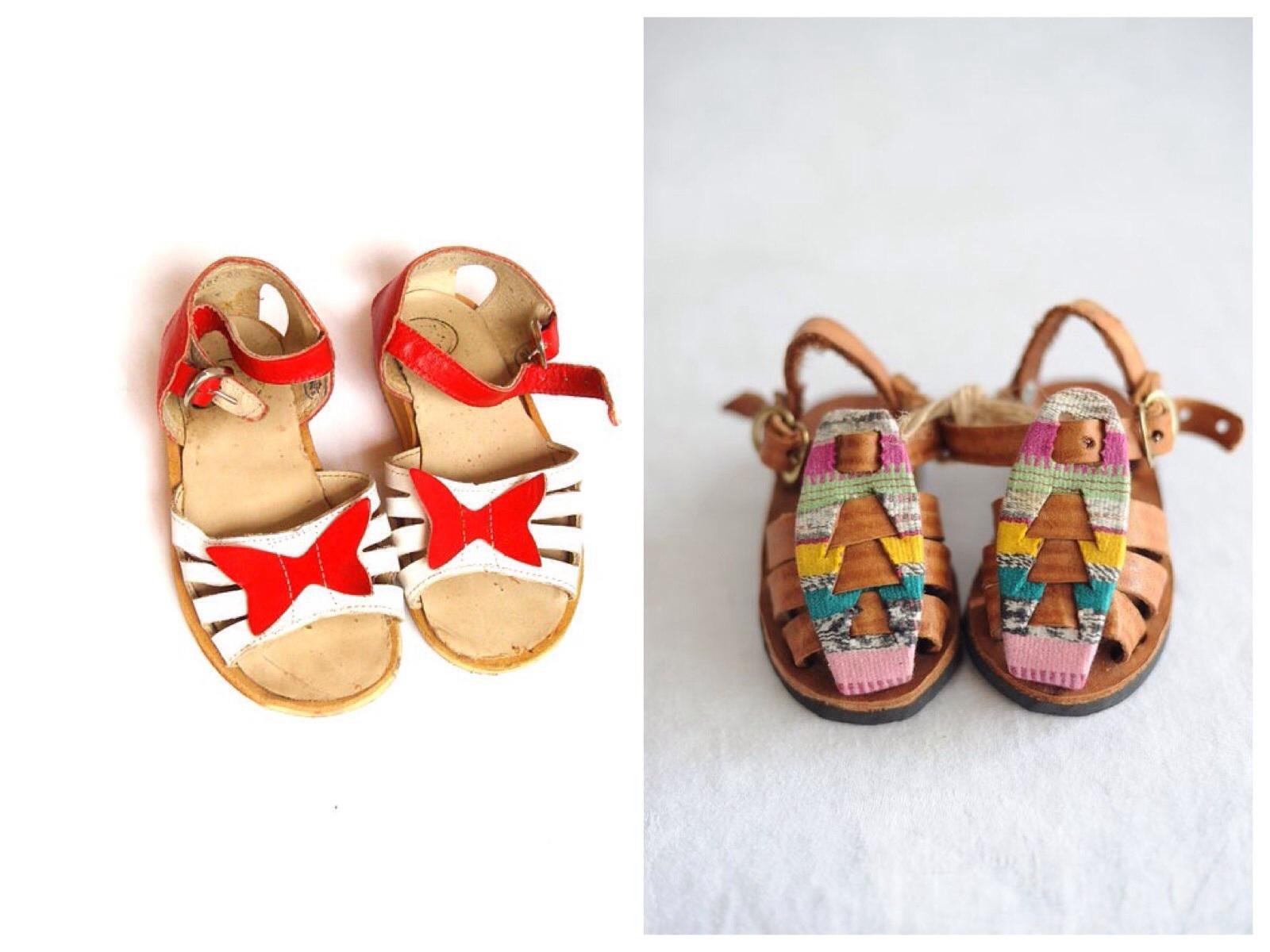 chaussures bébé pour l'été - baby shoes