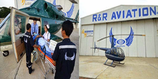 Rent Helicopter from R & R Aviation in Bangladesh