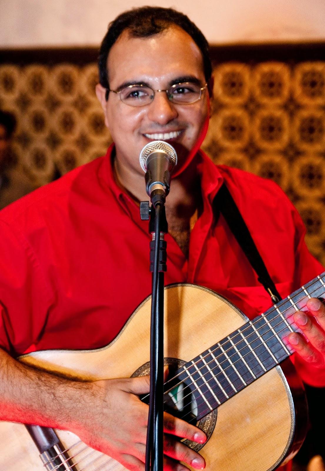 Pedro Holanda, compositor e intérprete de 'É hoje!'
