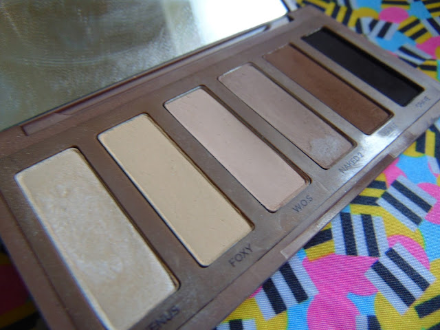 7 days 7 palettes Urban Decay Naked basics