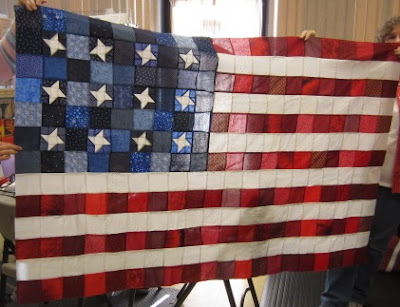 AMERICAN FLAG QUILT BLOCK PATTERNS
