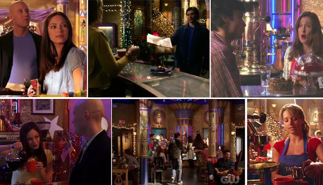 Bar de la serie Smallville donde trabajaba Lana